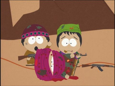 south park bin laden. Osama in Laden Has Farty