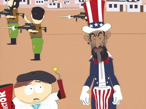 south park bin laden. Osama in Laden Has Farty